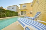 Relax poolside and take in the warm Florida sun